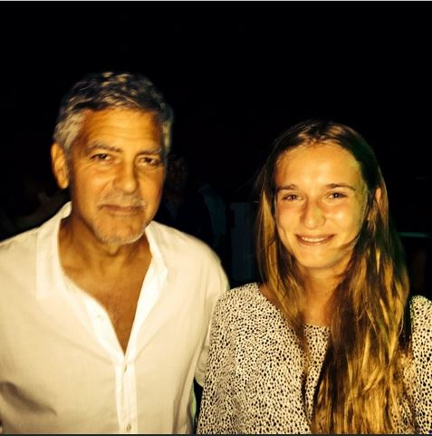 George & Amal Clooney, the Gerbers at the Ibiza launch of their Casamigos tequila August 23, 2015 Aa312