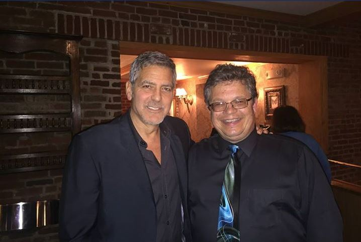 George Clooney out for dinner with his dad and sang happy birthday - Kentucky 02. June 2015 Cc11