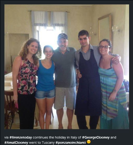 Photos of George Clooneys indicating he's in Tuscany July 29 2015 Ff11