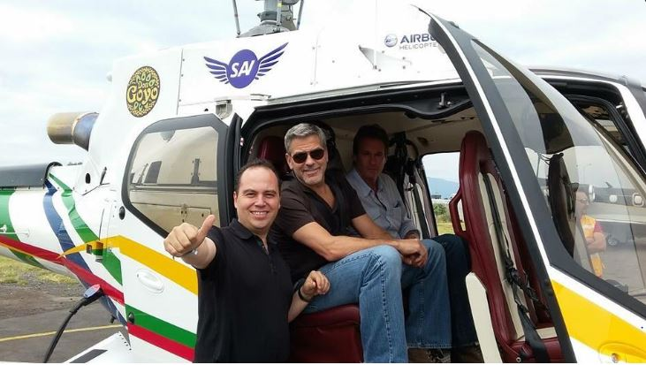 George Clooney in Mexico - June 6, 2015 Kk310