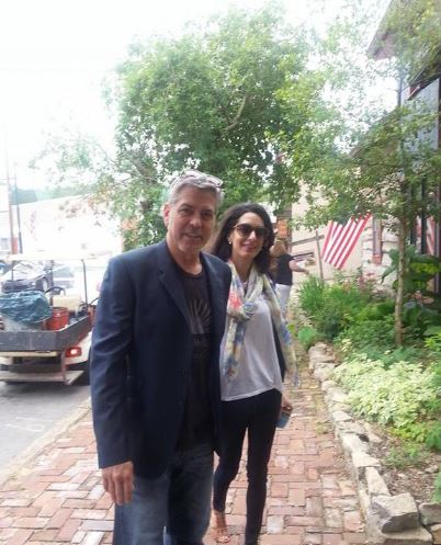 George and Amal in Kentucky 03. June 2015 Pp10