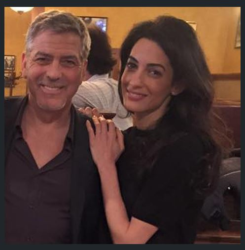 George Clooney out for dinner with his dad and sang happy birthday - Kentucky 02. June 2015 - Page 2 Ss11