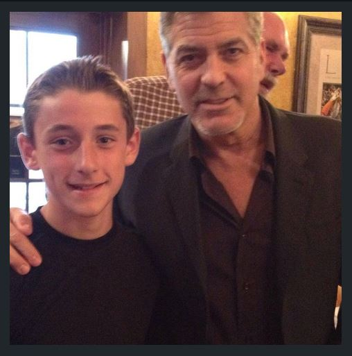 George Clooney out for dinner with his dad and sang happy birthday - Kentucky 02. June 2015 - Page 2 Ss411