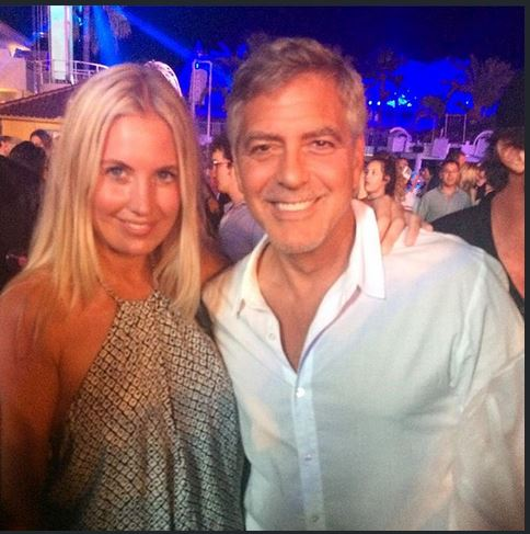 George & Amal Clooney, the Gerbers at the Ibiza launch of their Casamigos tequila August 23, 2015 Tttt10