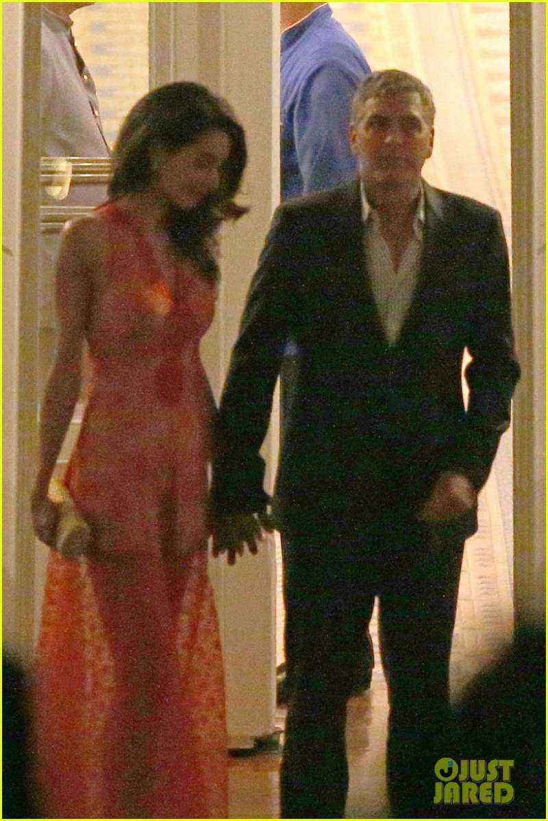 George and Amal at Villa D'Este  Zz510