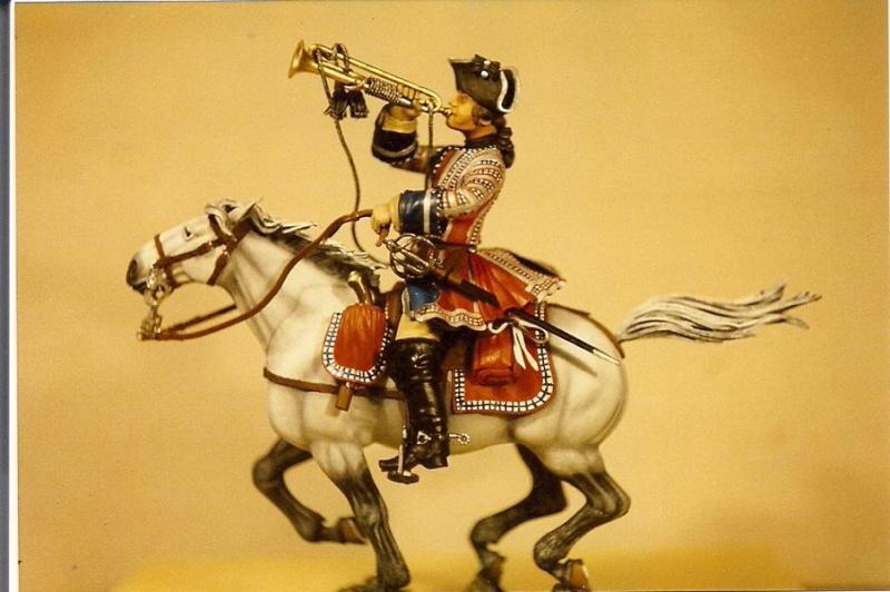 Trompeter der Orleans Cavalerie, Poste Militaire K800_s11