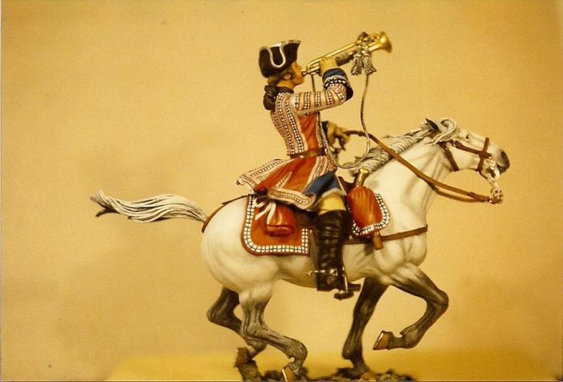 Trompeter der Orleans Cavalerie, Poste Militaire K800_s12