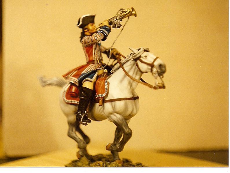 Trompeter der Orleans Cavalerie, Poste Militaire K800_s13