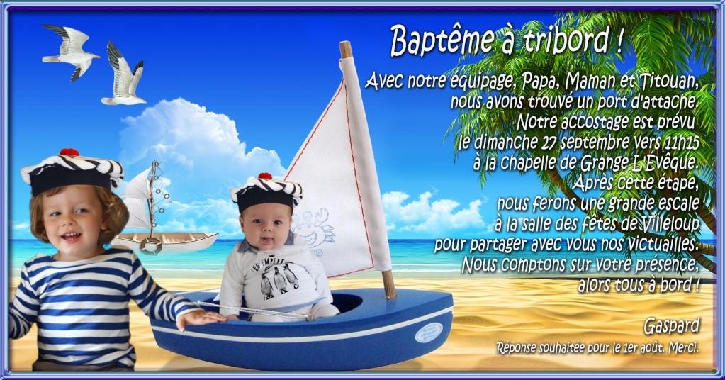 Faire-part baptême roi Dernie10