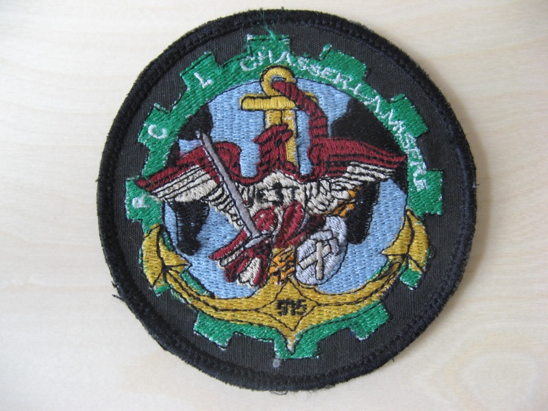 Unknown Afghan made patches - 1 Norwegian and 1 French? Img_7712