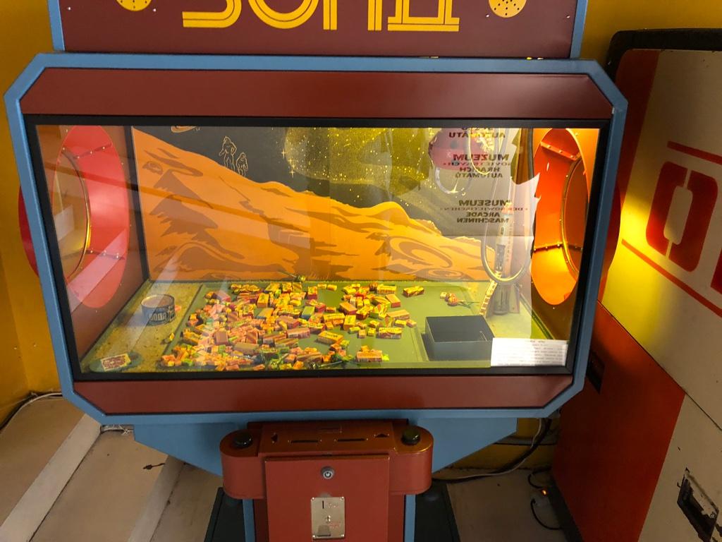 Le Musée des machines d'arcade soviétiques de Moscou Unadju20