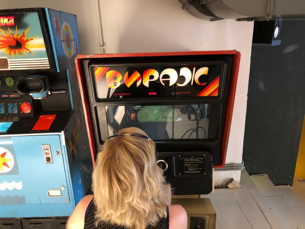 Le Musée des machines d'arcade soviétiques de Moscou Unadju21