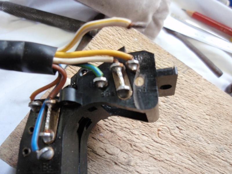 Repairing left switch block P8240414