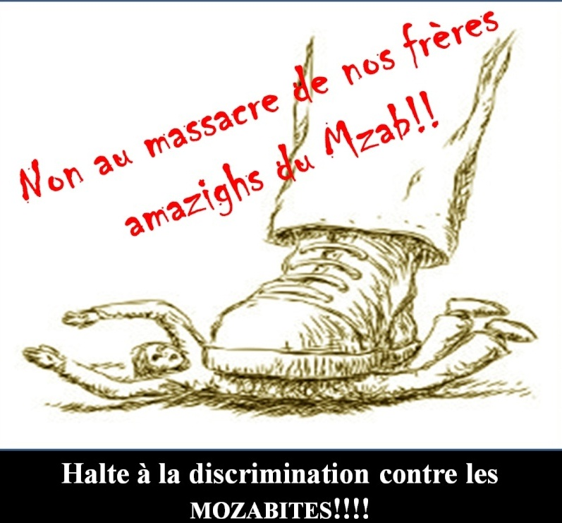Halte à la discrimination contre les Mozabites ! 543