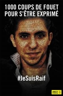 Raïf Badawi : 1000 coups de fouet et 10 ans de prison pour s'être exprimé Arton210