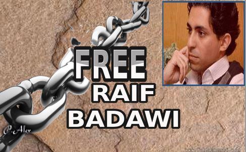 Raif Badawi, ce jeune blogueur saoudien condamné à 1000 coups de fouet et 10 ans de prison  pour avoir défendu la laïcité Free-r10