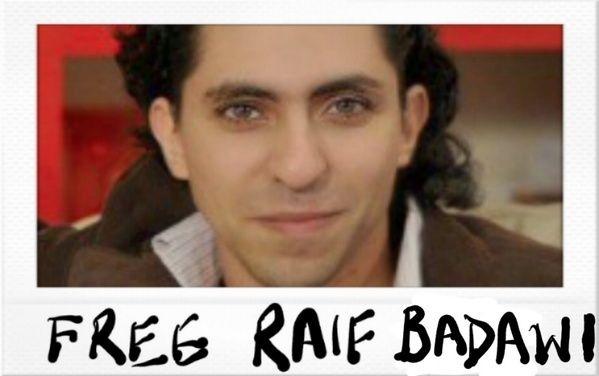 Raif Badawi, ce jeune blogueur saoudien condamné à 1000 coups de fouet et 10 ans de prison  pour avoir défendu la laïcité Raif-b10