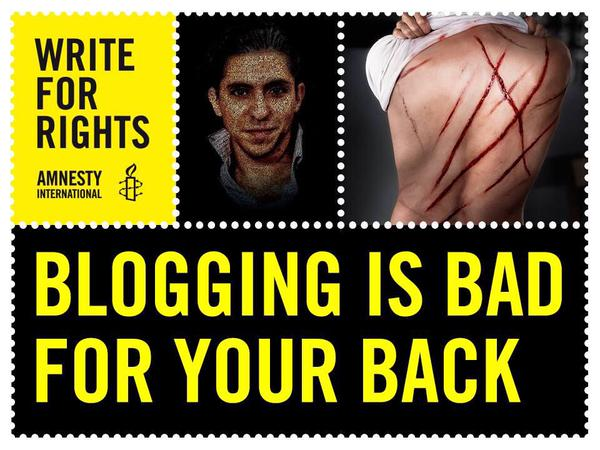 Raïf Badawi : 1000 coups de fouet et 10 ans de prison pour s'être exprimé Tumblr10