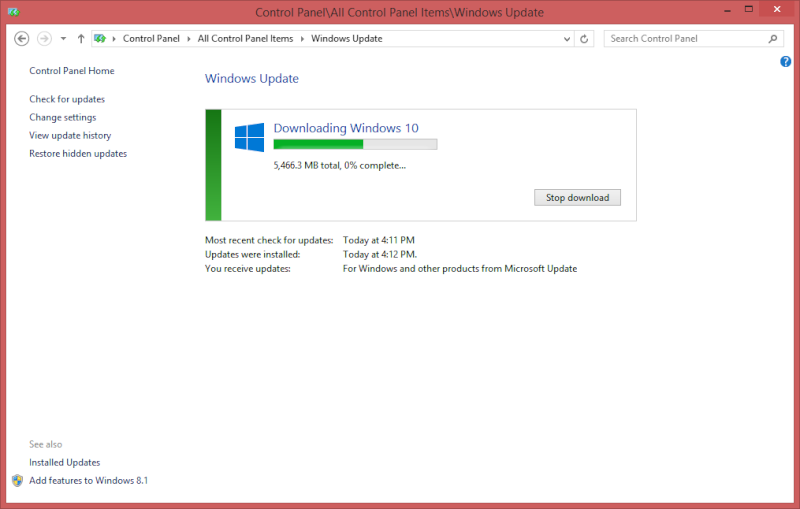 Force Windows 10 Upgrade Window11