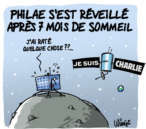 Actu en dessins de presse - Attention: Quelques minutes pour télécharger - Page 3 Philae10