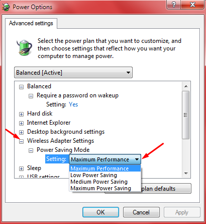 Gallery connection problems: a note about network adapter settings.  Missin12