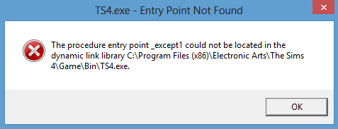 "The procedure entry point ____ could not be located & ""MSVCP120.dll is missing"". Screen12"