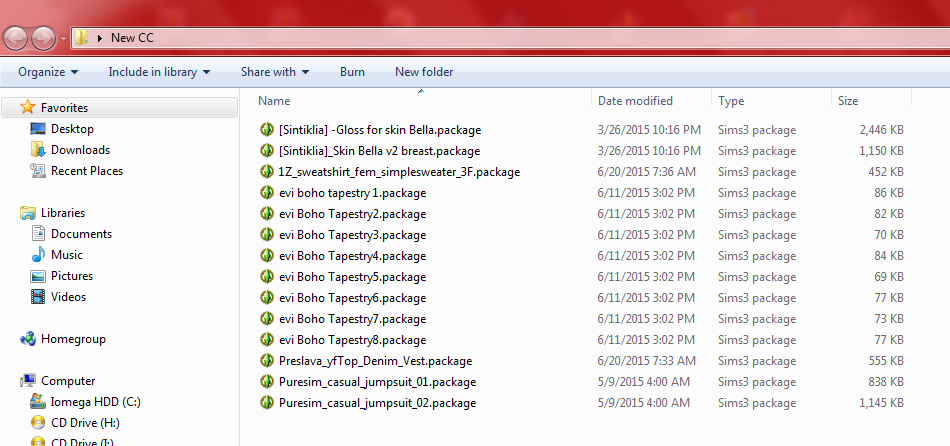How to merge .package files. Screen15