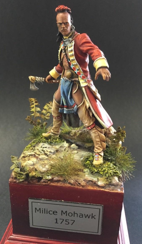 Milice Mohawk 1757 par Thierry Thumb122