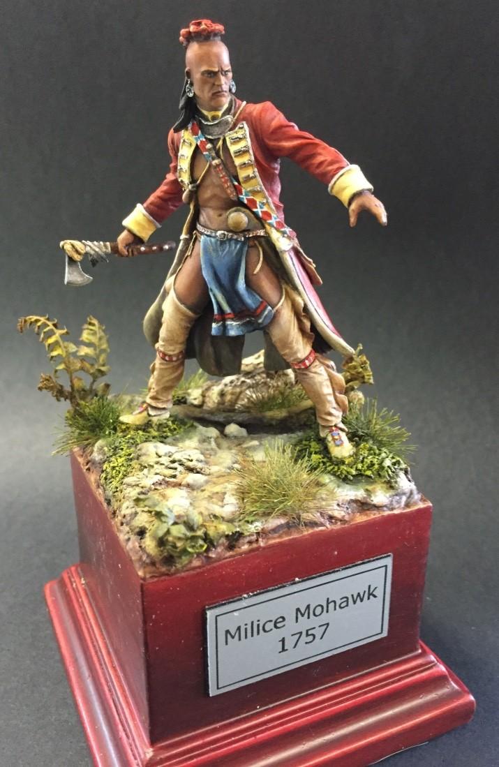 Milice Mohawk 1757 par Thierry Thumb124