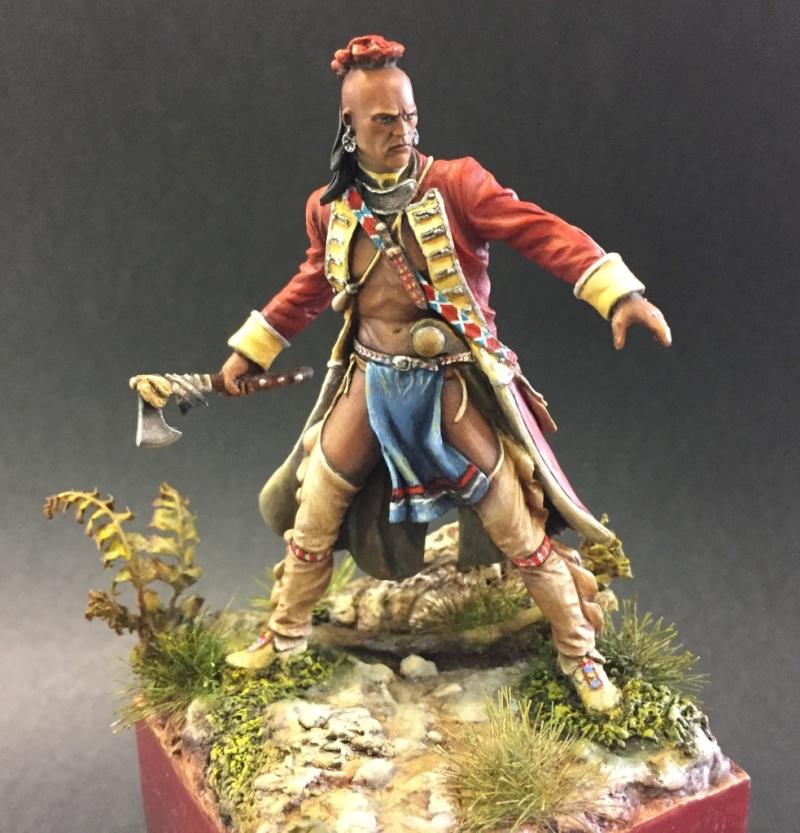 Milice Mohawk 1757 par Thierry Thumb125