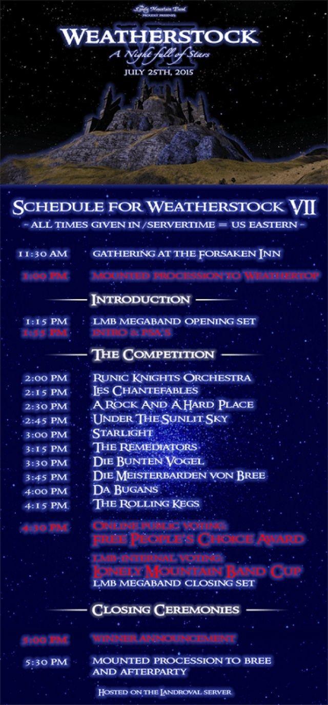 ça y'est , c'est faiiiiiit ! les Chantefables au Weatherstock 7 !! Weathe15