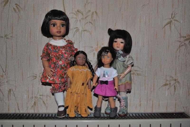 Les nouvelles mini American Girls Grace, Kaya et .... toutes les autres ! Dsc_0123