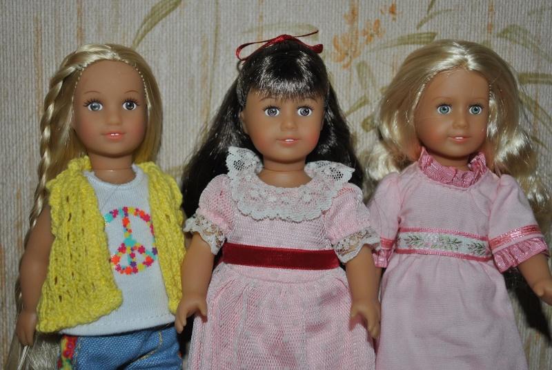 Les nouvelles mini American Girls Grace, Kaya et .... toutes les autres ! Dsc_0149