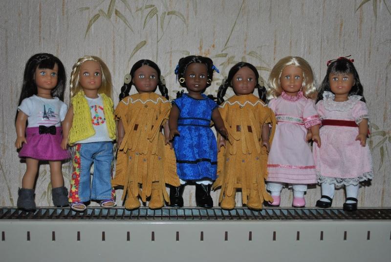 Les nouvelles mini American Girls Grace, Kaya et .... toutes les autres ! Dsc_0211