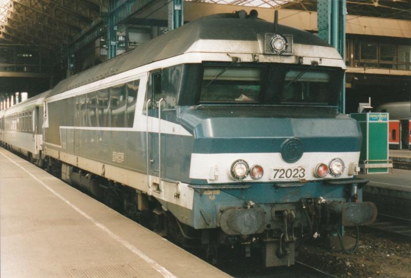 Matériel Diesel et lignes SNCF. Lyon_p10