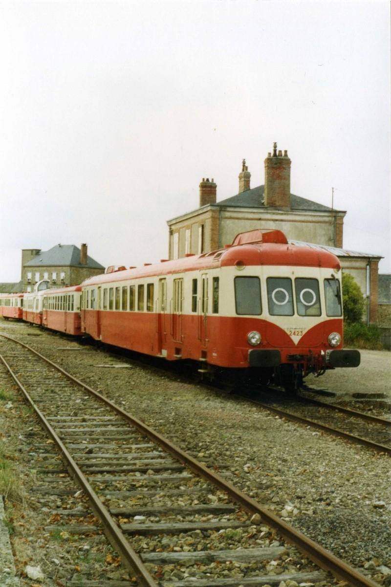 Matériel Diesel et lignes SNCF. Photo_10