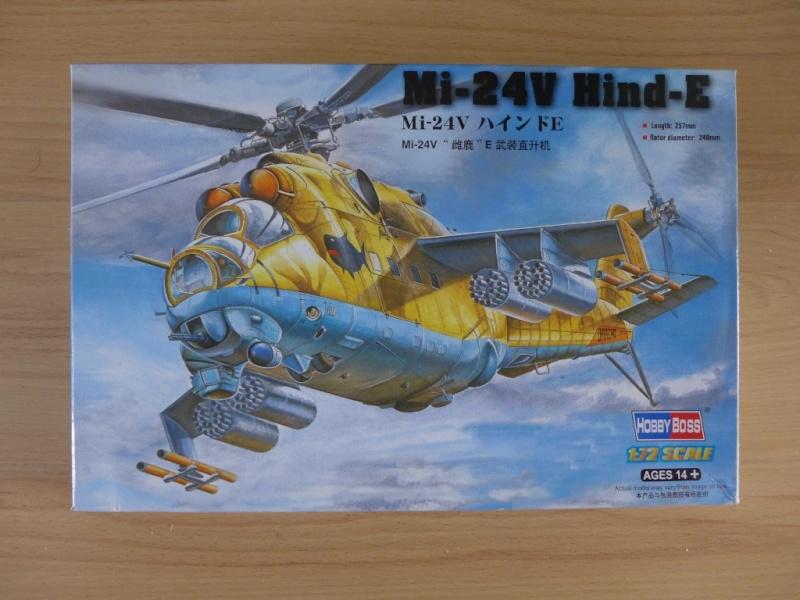 Mil Mi-24V Hind E / HobbyBoss, 1:72 P1040124