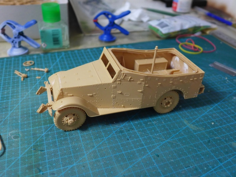 "M3A1 ""White Scout Car"" von HobbyBoss P1040219"
