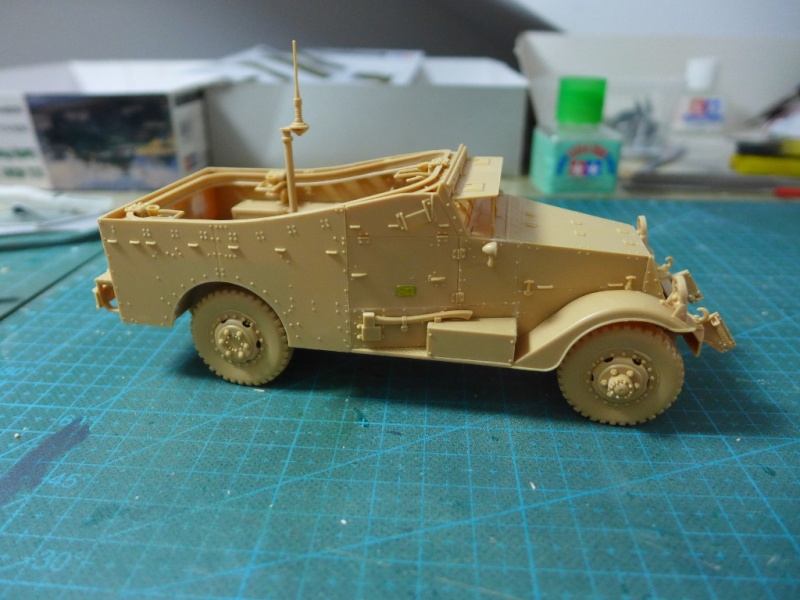 "M3A1 ""White Scout Car"" von HobbyBoss P1040224"