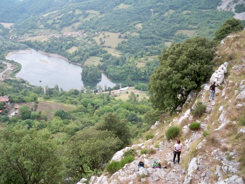 Escalada: martes 4 de agosto 2015 - Escalada en Quirós, Asturias (sectores La Selva y Escalón) 023_se10