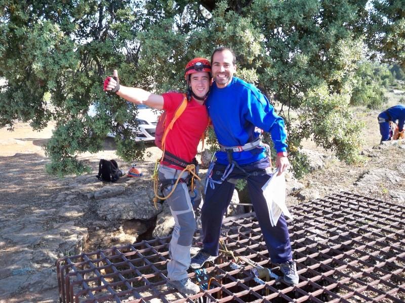 Espeleología: sábado 6 de junio 2015 - Cueva de las Majadillas (Guadalajara) 100_9911