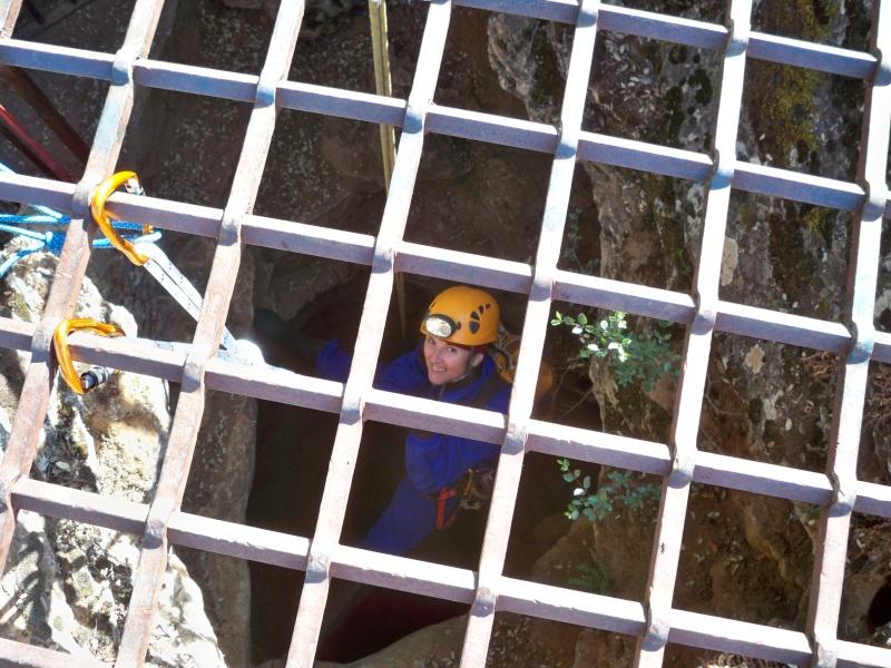 Espeleología: sábado 6 de junio 2015 - Cueva de las Majadillas (Guadalajara) 100_9912