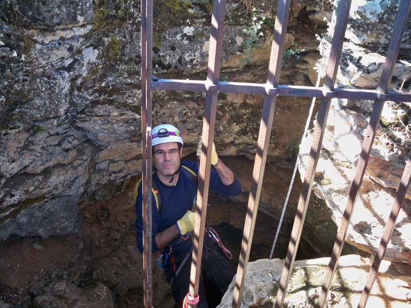 Espeleología: sábado 6 de junio 2015 - Cueva de las Majadillas (Guadalajara) 100_9915