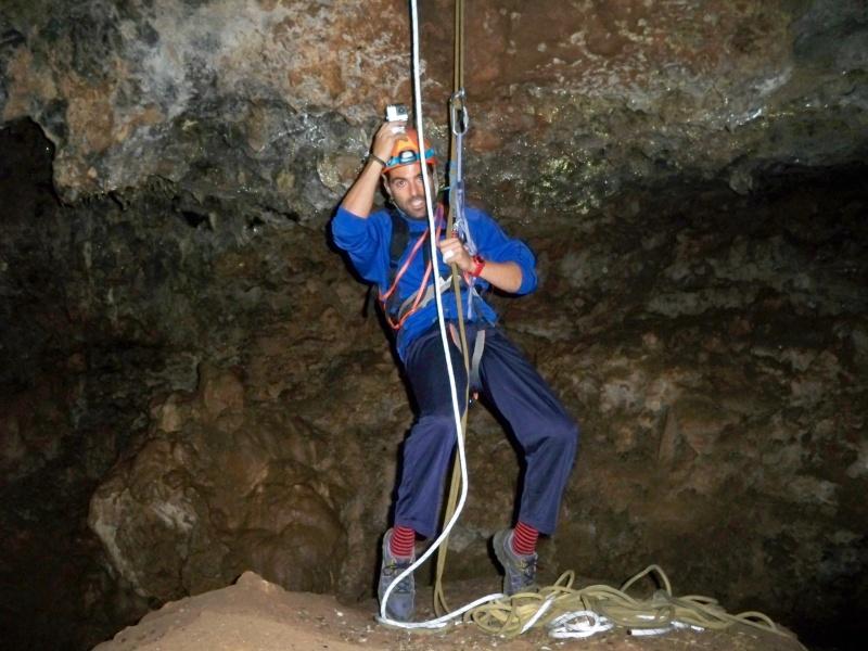 Espeleología: sábado 6 de junio 2015 - Cueva de las Majadillas (Guadalajara) 100_9917