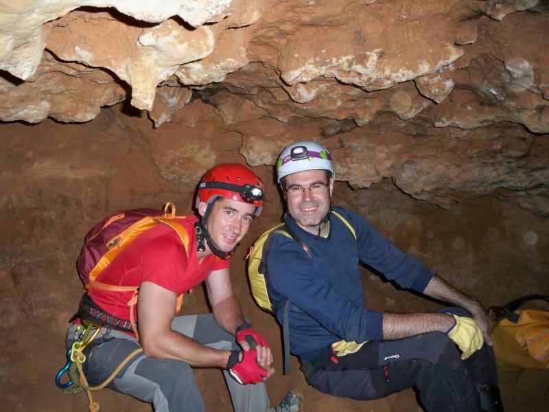 Espeleología: sábado 6 de junio 2015 - Cueva de las Majadillas (Guadalajara) 101_0010