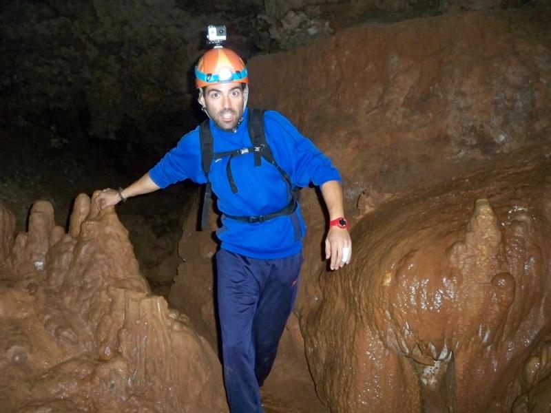 Espeleología: sábado 6 de junio 2015 - Cueva de las Majadillas (Guadalajara) 101_0011