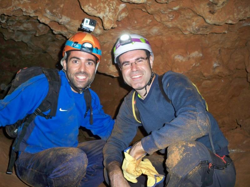 Espeleología: sábado 6 de junio 2015 - Cueva de las Majadillas (Guadalajara) 101_0016