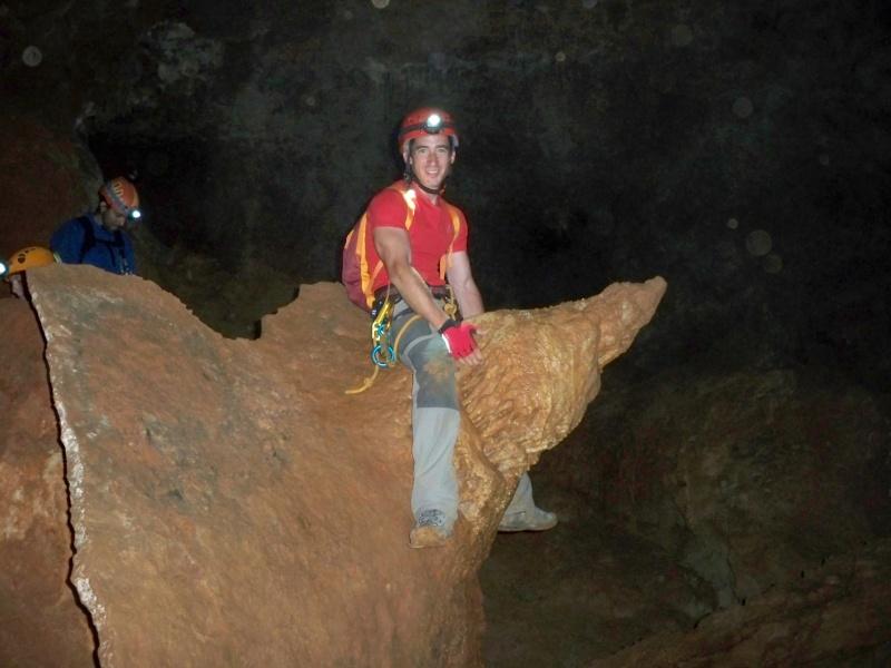 Espeleología: sábado 6 de junio 2015 - Cueva de las Majadillas (Guadalajara) 101_0018