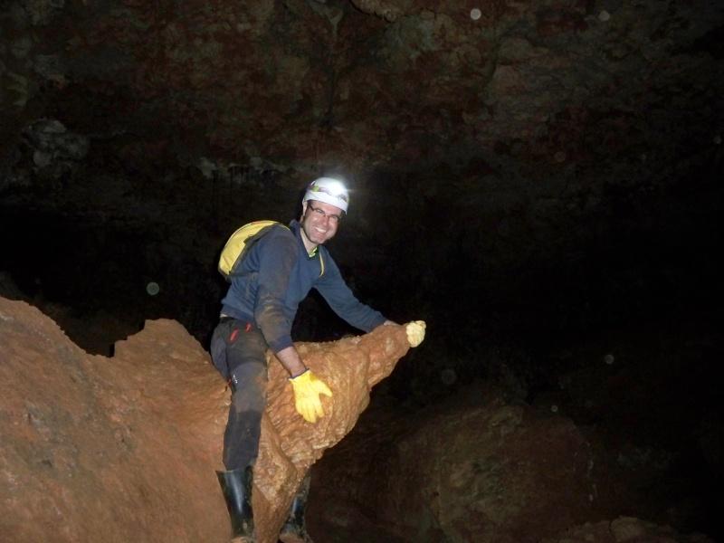 Espeleología: sábado 6 de junio 2015 - Cueva de las Majadillas (Guadalajara) 101_0020