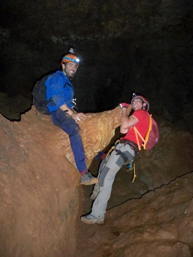 Espeleología: sábado 6 de junio 2015 - Cueva de las Majadillas (Guadalajara) 101_0022